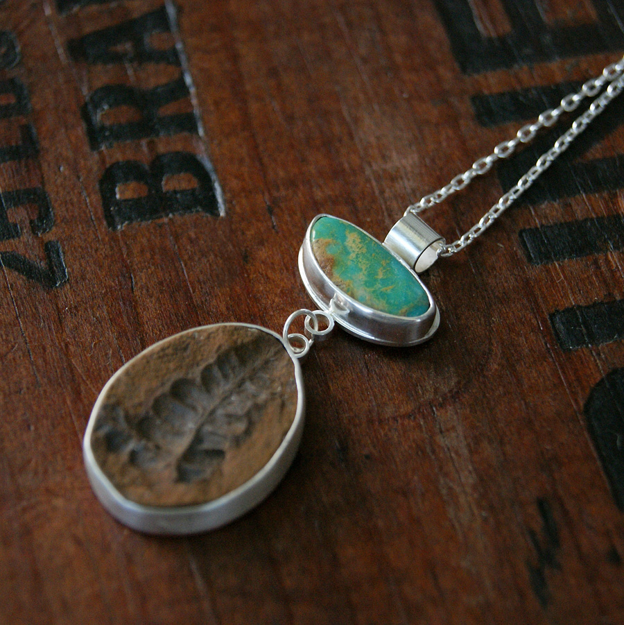 of land and sea necklace