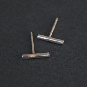 mini modern sticks earrings