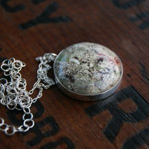 woodland fireworks necklace