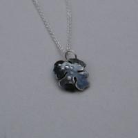 tiny lichen necklace