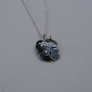 tiny lichen necklace