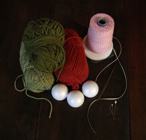 supplies for yarn ball