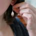 raindrop petals earrings