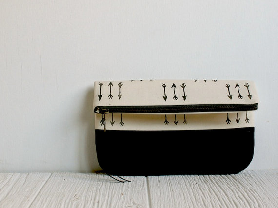 Fold Over Clutch by Milk and Honey Handbags