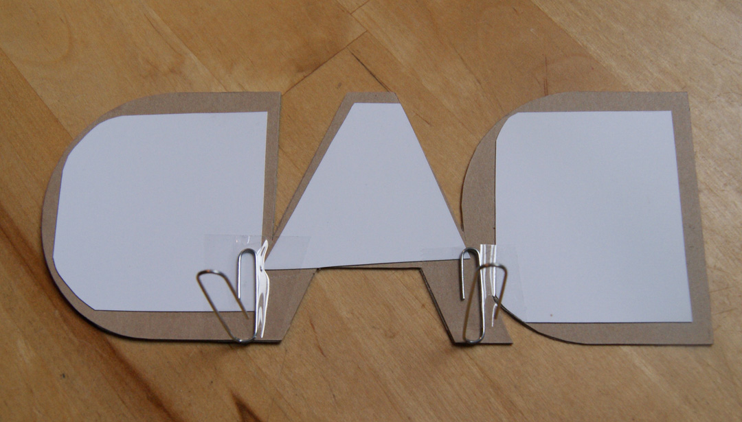 DAD Photo Frame Paper Clips