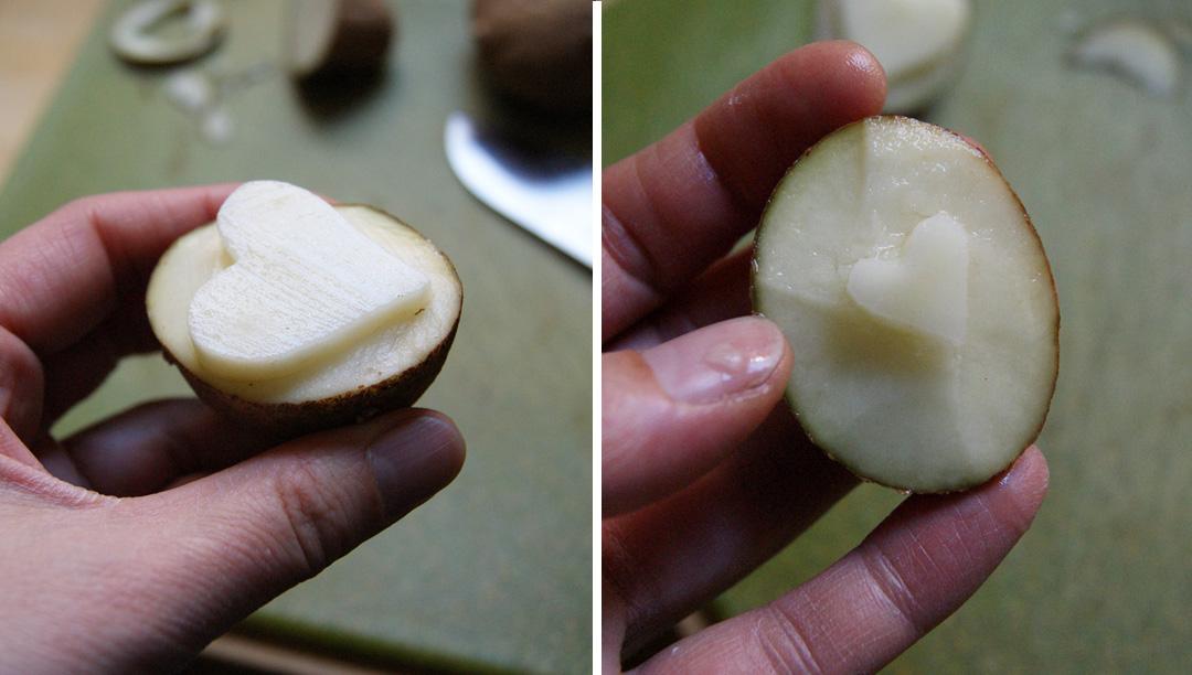 potato stamps
